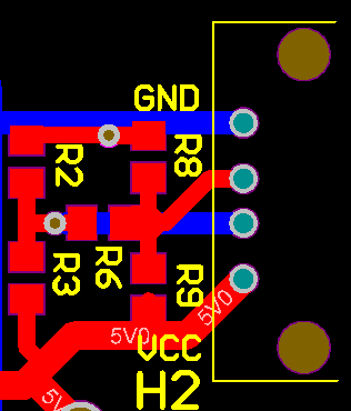 2D Charging Circuit layout