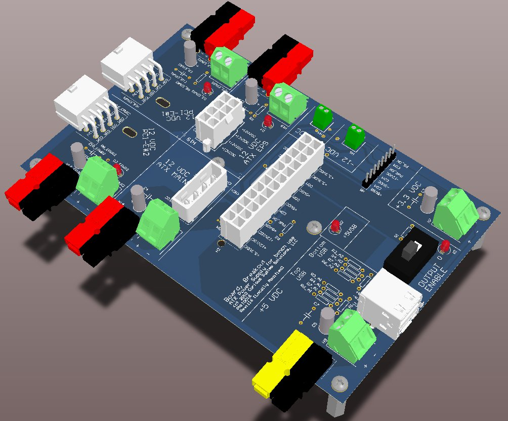 Atx Power Supply Breakout Board  U2013 Curious System Solutions
